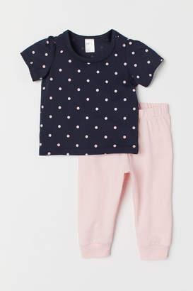 H&M Jersey Set - Pink