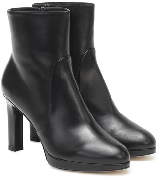 Stuart Weitzman Alani leather ankle boots