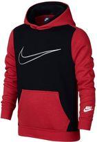 Nike Boys 8-20 Core GFX Colorblock Hoodie
