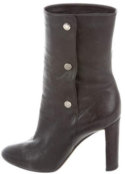 Jimmy Choo Leather Ankle Boots Leather Ankle Boots