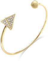 ABS by Allen Schwartz Crystal Pyramid Cuff Bracelet
