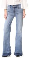Hudson Dani Wide Leg Released Hem Jeans
