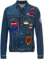 Dolce & Gabbana patch denim jacket