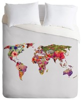 DENY Designs Its Your World Lightweight Duvet Cover