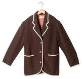 Bonpoint Girls' Wool Jacket