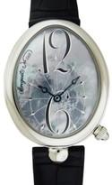 Breguet Reine de Naples 8967ST/V8/986 Mother of Pearl Blue Dial Watch