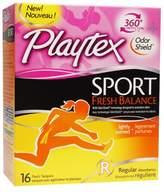 Playtex Sport Fresh Balance Tampons Regular