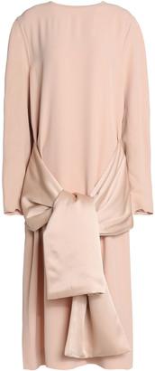 Jil Sander Tie-waist Crepe Dress