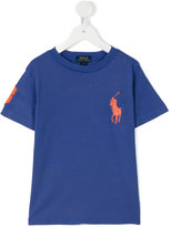 Ralph Lauren logo T-shirt - kids - Cotton - 2 yrs