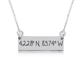 Women's Dayna Designs Michigan Wolverines Coordinates Reversible Bar Necklace