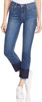 Paige Jacqueline Straight Block Hem Jeans in Sherwood