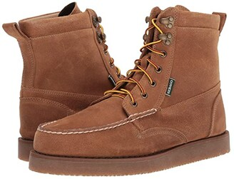 Sebago Rogden Boot Suede (Beige Camel) Men's Shoes