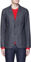 Rag & Bone Wool blend soft fielding blazer
