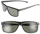 BOSS Men's 60Mm Sunglasses - Black/ Grey Green