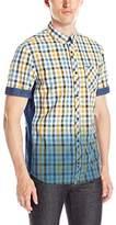 Buffalo David Bitton Men's Sakirn Short Sleeve Button Down Shirt