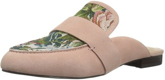 The Fix Amazon Brand Women's French Floral Tapestry Slide Slip-on Loafer