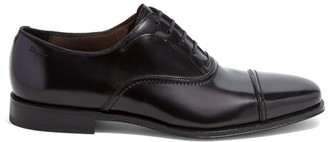 Salvatore Ferragamo Seullux Admiral Leather Oxford Loafers