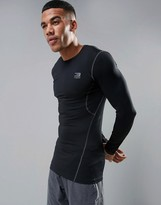 Jack and Jones Tech Long Sleeve Compression Top