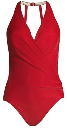 Miraclesuit Rock Solid Wrapsody One-Piece Swimsuit