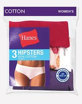 Hanes Women's Cotton Hipster Panty (Pack of 3)