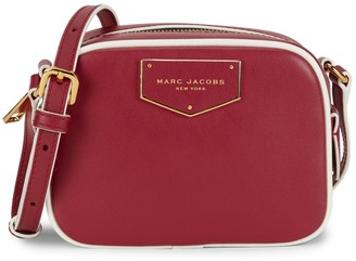 Marc Jacobs Voyager Leather Square Crossbody Bag