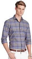 Polo Ralph Lauren Plaid Poplin Long-Sleeve Woven Shirt