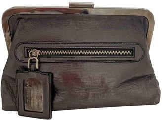 Dolce & Gabbana Metallic Leather Clutch bags