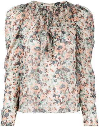 Ulla Johnson Astrid ruffled floral-print blouse