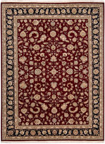 """Nourison Closeout! Royalty RO55 Burgundy 8'6"""" x 11'6"""" Hand-Knotted Rug"""
