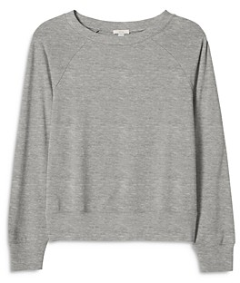 Eberjey Blair Cropped Ringer Sweatshirt