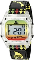 Freestyle Unisex 10022119 Shark Clip Hawaii Digital Display Japanese Quartz Black Watch