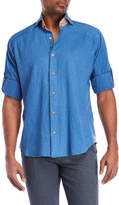 Bogosse Peter Denim Blue Sport Shirt