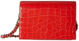 Alice + Olivia Croc Embossed Clee Crossbody Cross Body Handbags