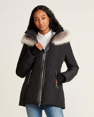 Nicole Benisti Zermatt Real Fur-Trimmed Hooded Down Coat