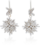 Suzanne Kalan 18K White Gold Diamond Earrings