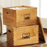 Chateau d'Avignon Wine Crate File Box