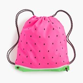 J.Crew Girls' watermelon drawstring backpack