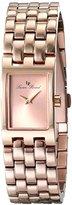 Lucien Piccard Women's LP-10018-RG-99 Kensington Analog Display Japanese Quartz Rose Gold-Tone Watch