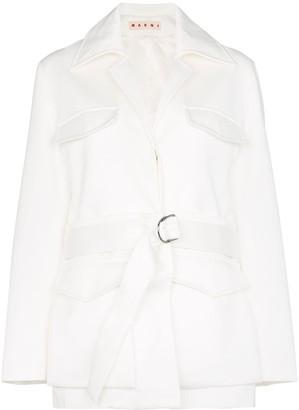 Marni Convertible Belted Jacket
