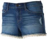 Mudd Juniors' FLX Stretch Crochet Hem Shortie Shorts
