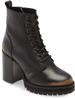 Steve Madden Rivet Lace-Up Boot