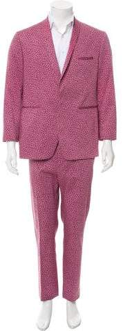 Etro Polka Dot Two-Piece Suit