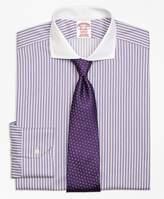 Brooks Brothers Non-Iron Madison Fit Bold Stripe Dress Shirt