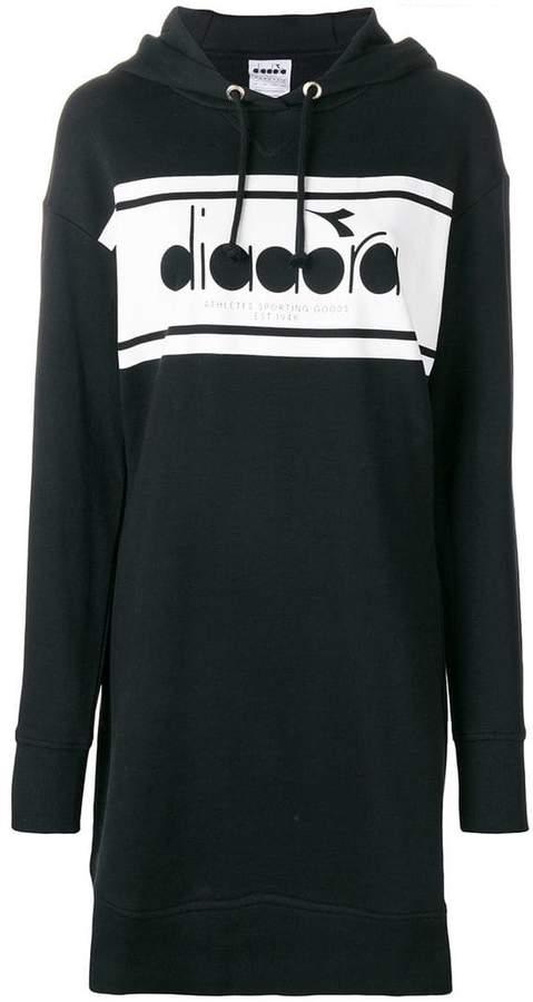 Diadora (ディアドラ) - Diadora Spectra hooded sweatshirt dress