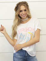 Wildfox Couture Stay High Manchester Tee in Alabaster