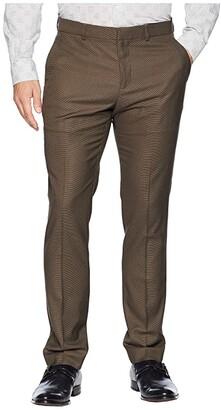 Perry Ellis Portfolio Very Slim Fit Nailhead Dress Pants (Black) Men's Dress Pants
