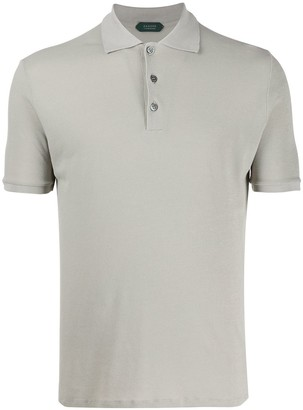 Zanone Fitted Polo Shirt