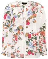 Isabel Marant Ivia floral-printed silk top