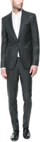 Zara Micro-Structured Charcoal Grey Suit
