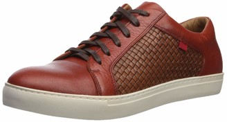 Marc Joseph New York Men's Geuine Leather Waverly Street Criss Cross Sneaker